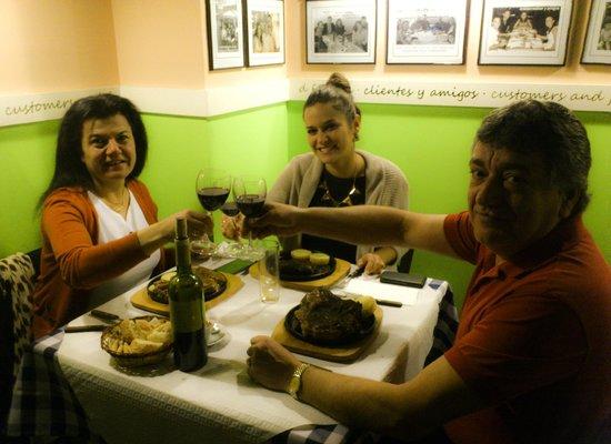 Abrasa BBQ: Nuestros amigos Gallegos