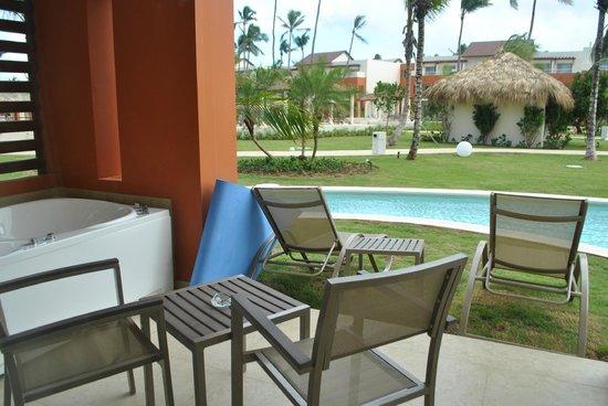 Breathless Punta Cana Resort U0026 Spa: Patio/ Swim Up Room
