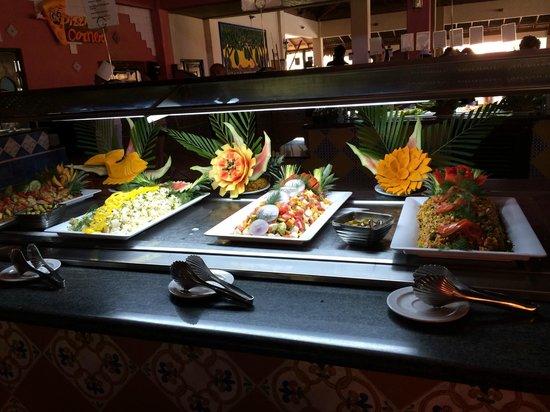 Tropical Princess Beach Resort & Spa: exemple du buffet