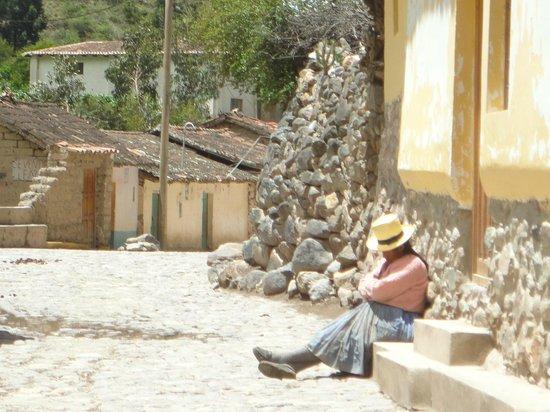 Plazoleta Aracama: ou aproveite o solzinho para tirar um cochilo.