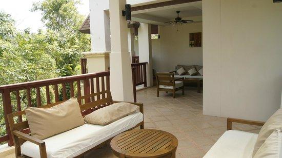Crown Lanta Resort & Spa: Balkon