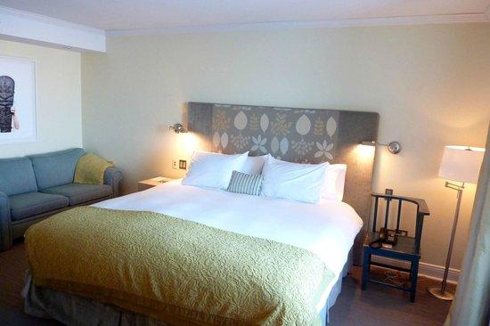Auberge Saint-Antoine: comfy bed