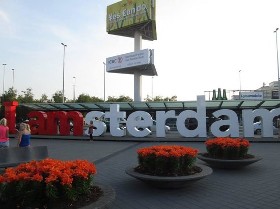 Holiday Inn Express Amsterdam-Sloterdijk Station: airport