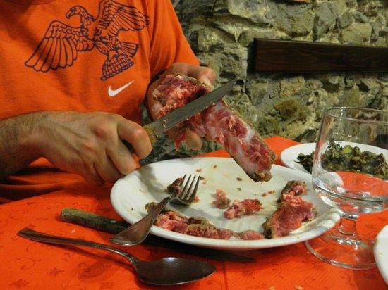 Il Grottone: Pulitura dell'osso!
