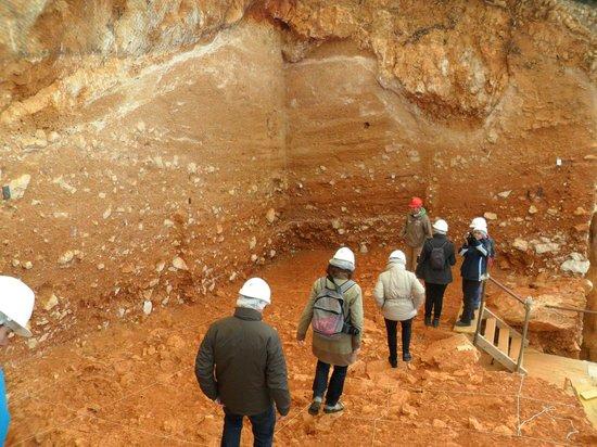 Yacimientos de la Sierra de Atapuerca : Paseando por la zona.