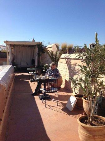 Riad Tzarra: terrace