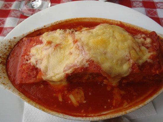 Mamma Rosa : vegetarian lasagne delicious