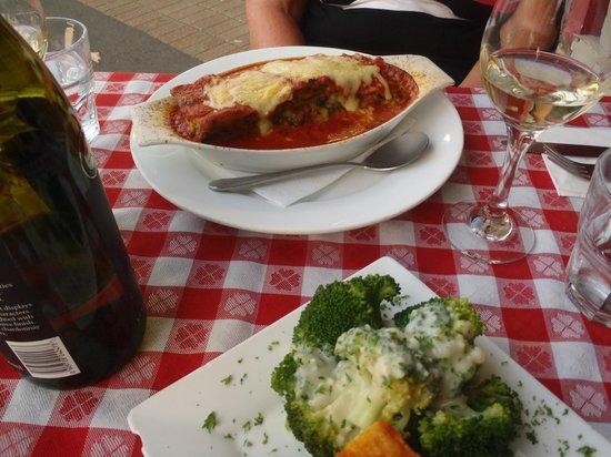 Mamma Rosa : vegetarian lasagne