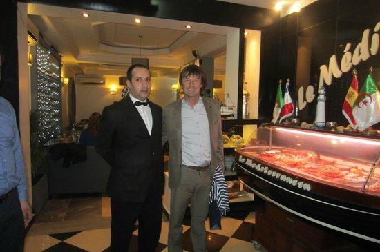 Le Mediterraneen: M.Nicolas HULOT au Méditerranéen,lors de sa visite à Oran