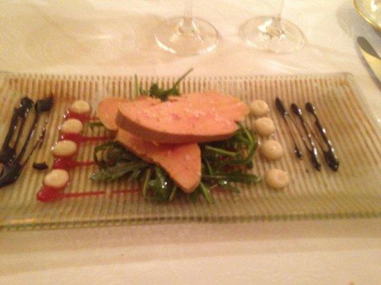 Le Jardin des Brouches : foie gras maison