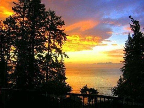 4 Beaches Bed & Breakfast: Sunset