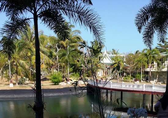 Andaman Princess Resort & Spa: Widok z pokoju na parterze