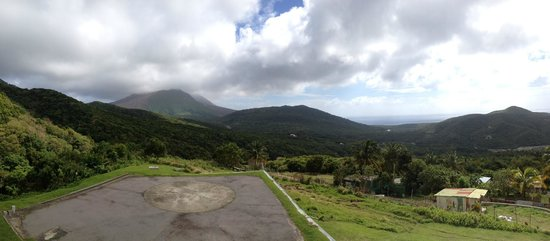 Montserrat Volcano Observatory: View from Observatory