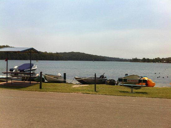 BIG4 Bungalow Park on Burrill Lake : Magnificent views of the lake