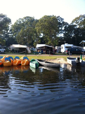 BIG4 Bungalow Park on Burrill Lake : Hire boats for your enjoyment