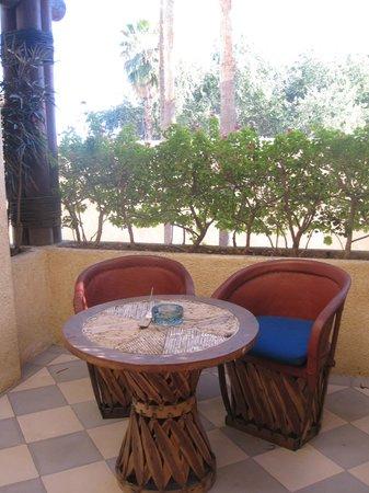 Casa Natalia: Our private patio