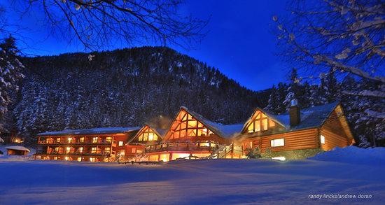 Gold Bridge, Canada: Lodge in winter