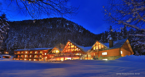 Gold Bridge, Canadá: Lodge in winter