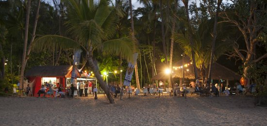 Kewarra Beach Resort & Spa: Pizza on the beach - Friday ninghts