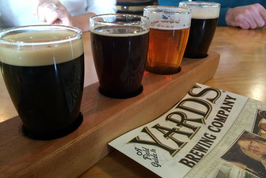 Yards Brewing Company - A Flight of Beer