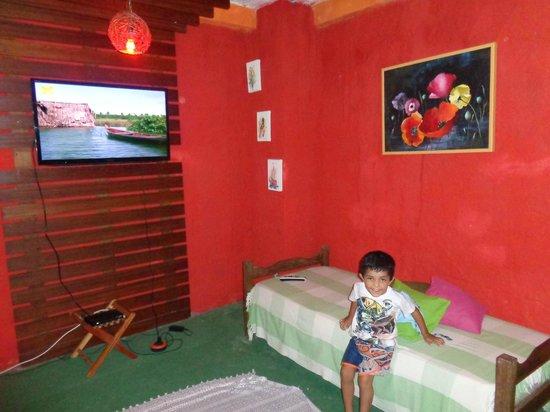 Pousada Sabor Bahia: Área de Lazer/TV.