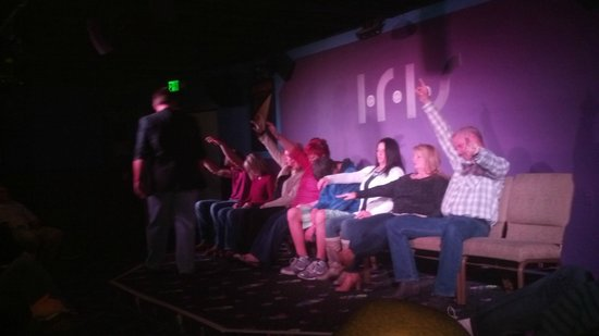 Comedy Hypnosis with Guy Michaels: Go ahead, volunteer