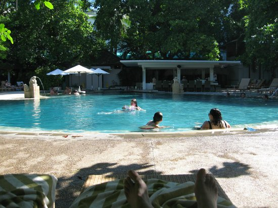 Bali Garden Beach Resort : Great place to swim!