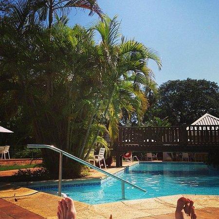 San Martin Resort & Spa: Vista da área de piscina