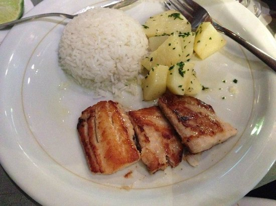 San Martin Resort & Spa: Tilápia na manteiga