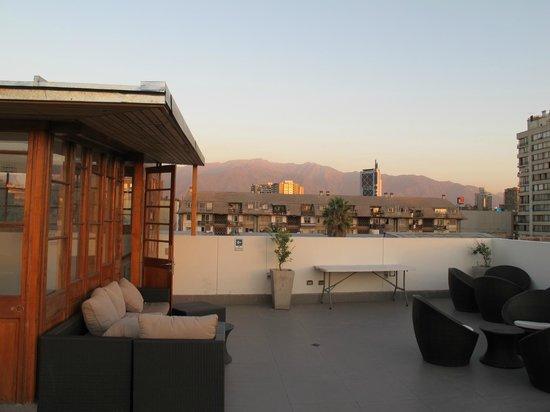 Hotel Loreto: Roof top terrace
