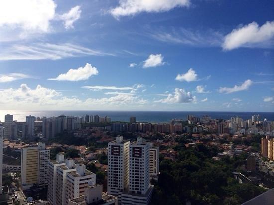 Intercity Salvador : vista do terraço