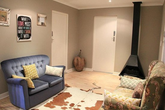 The Backpackers in Green Point: Rooms on 2nd floor around the tiny public space