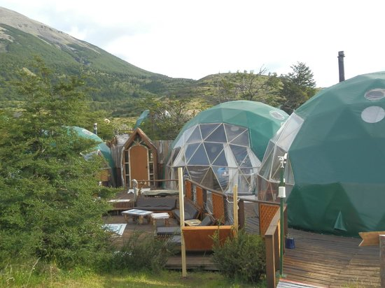 Ecocamp Patagonia : Communal Domes