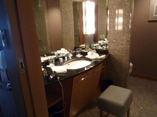 Cerulean Tower Tokyu Hotel: 洗面台