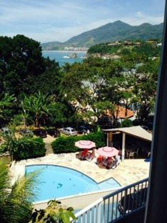 Villa Tenorio: vista da suíte