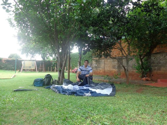 Hostel Paudimar Falls : Camping...