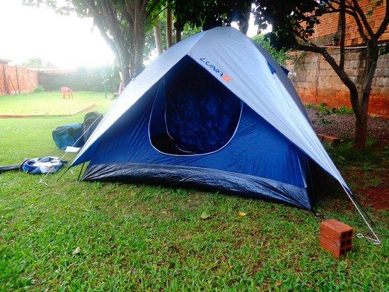 Hostel Paudimar Falls : barraca montada