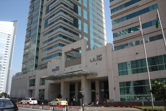 Frente do hotel picture of media rotana dubai tripadvisor for Tripadvisor dubai hotels