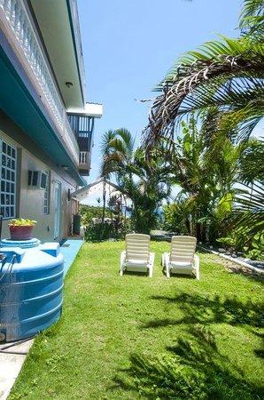EV's Vacation Rentals Rincon Puerto Rico: backyard