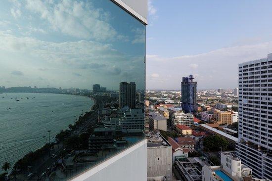 Holiday Inn Pattaya : Der Ausblick auf die Stadt