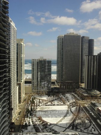 Fairmont Chicago Millennium Park : View from my room