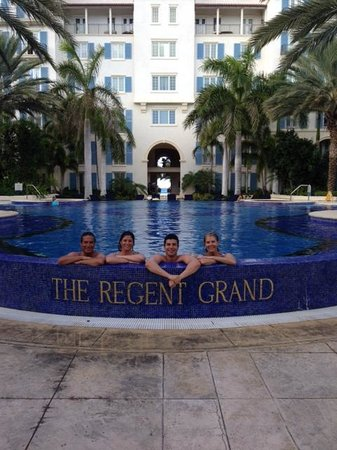 The Regent Grand: Our favorite family photo