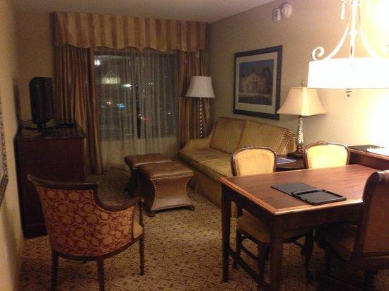 Embassy Suites by Hilton San Antonio Riverwalk-Downtown: Sala estar no quarto