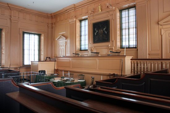 Independence Hall - Pennsylvania Supreme Court Chamber