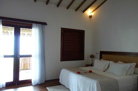 Hotel Vila Selvagem: Aspecto do bangalô luxo