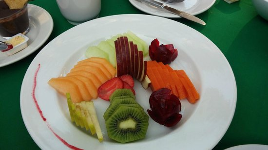 Mayan Bistro: Breakfast Fruit Plate