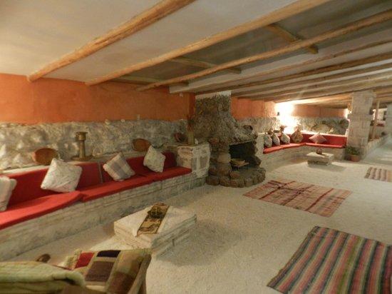Hotel de Sal Luna Salada: Área de decanso