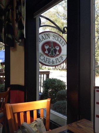 Main Street Cafe & Pub: Main St. Cafe and Pub in Hilton Head.