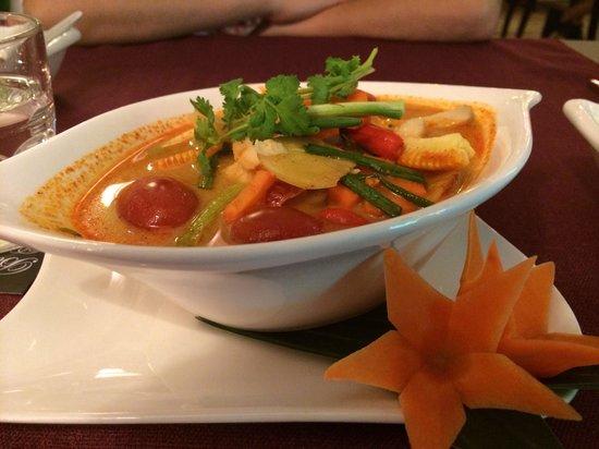 Bussaba Thai Restaurant: Delicious Tom Yum Kung