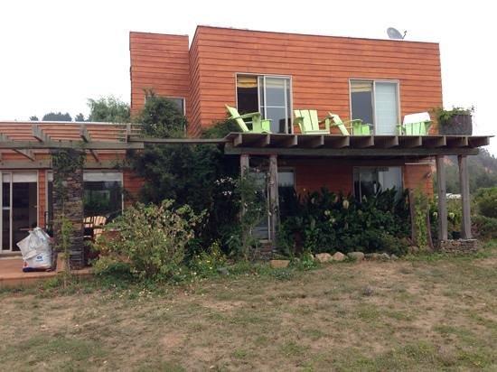 Los Maquis Hotel: Vista desde el Jardin